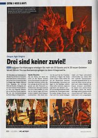Test von Chroniken von Coldramar in der PC Action 12/2011