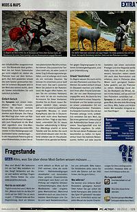 Synapsia für Dragon Age in der PC Action 09/2010