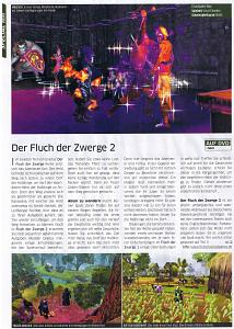 Der Fluch der Zwerge 2 in der PC Games 08/09